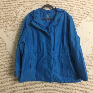 LL Bean H2OFF Rain Jacket Primaloft Lining A13-3